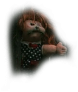 haunted forest doll