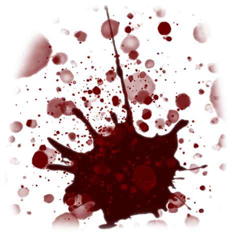 haunted forest blood